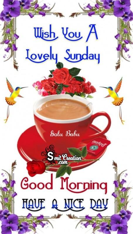Wish You A Lovely Sunday