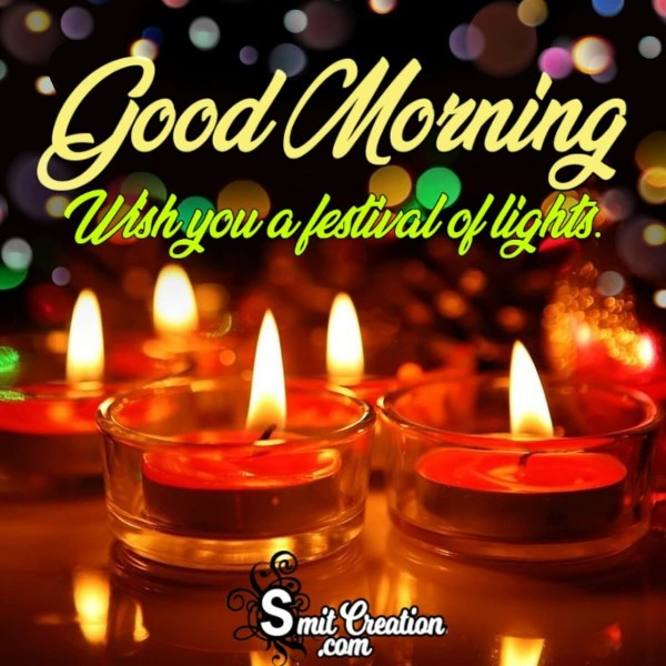 Good Morning Wishes For Diwali