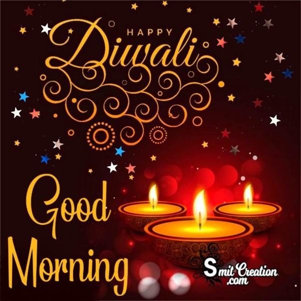 Good Morning Happy Diwali Card