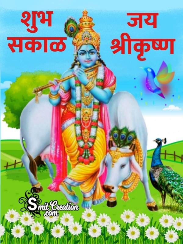 Shubh Sakal Krishna Image