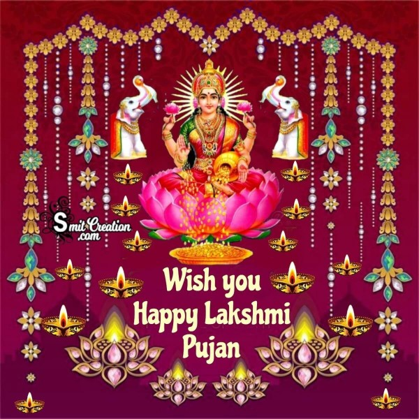 Wish  You Happy Lakshmi Pujan
