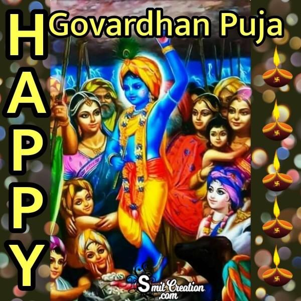 Happy Govardhan Puja Image