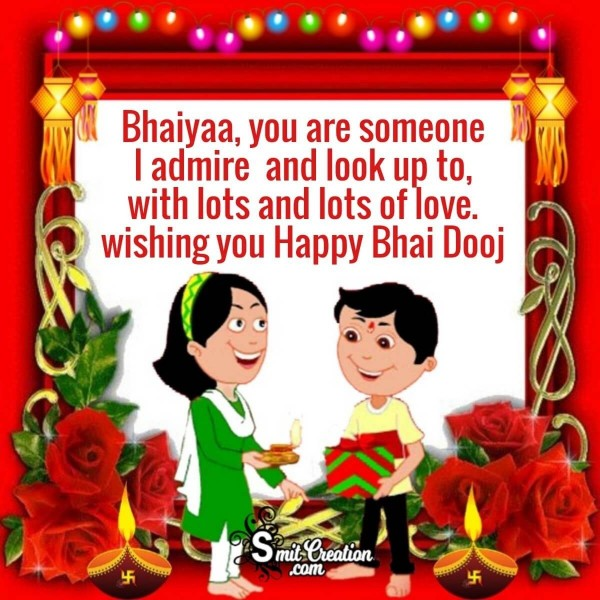 Happy Bhai Dooj Message Image