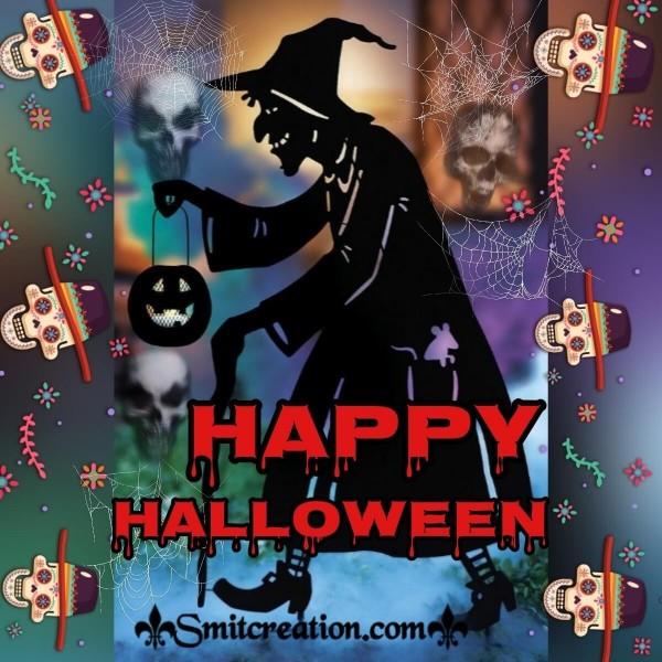 Happy Halloween Spooky Witch