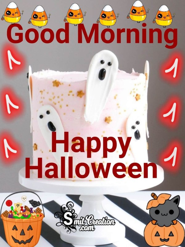 Good Morning Happy Halloween Image