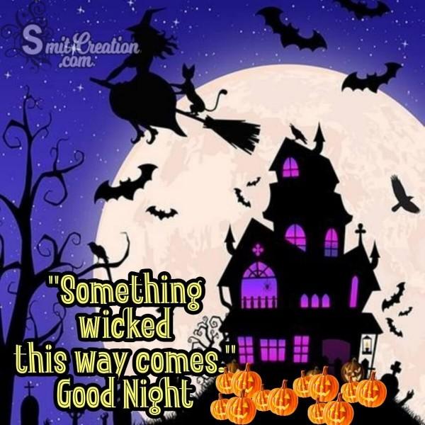 Good Night Halloween Image
