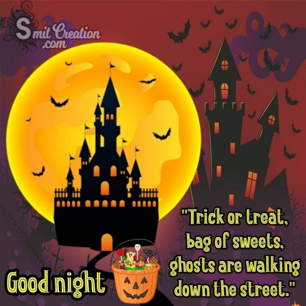 Good Night Halloween For Whatsapp