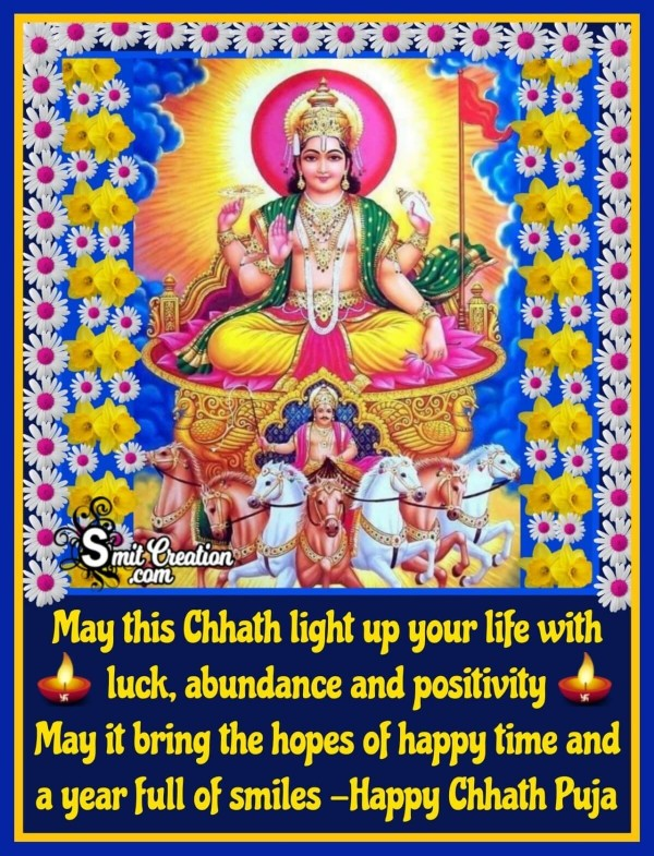 Happy Chhath Puja Message Image