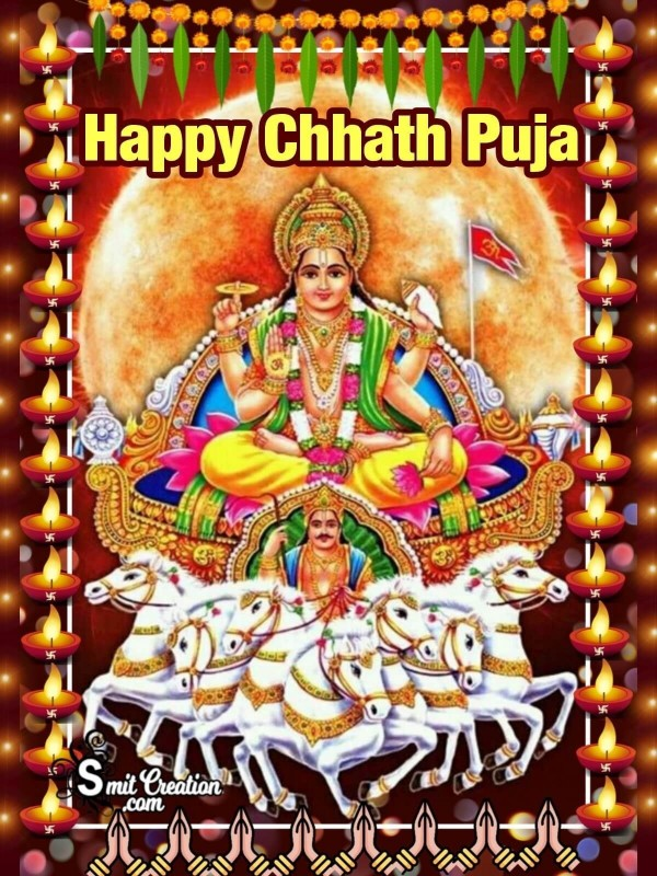 Happy Chhath Puja Greeting