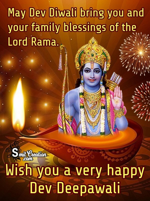 Blessings Of Lord Rama On Dev Deepawali