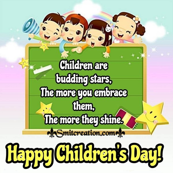 Happy Children's Day Cute Quote