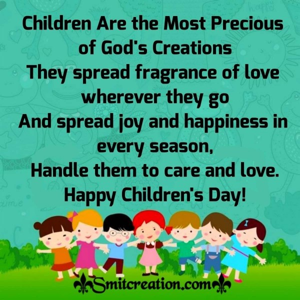 Happy Children's Day Whatsapp Message