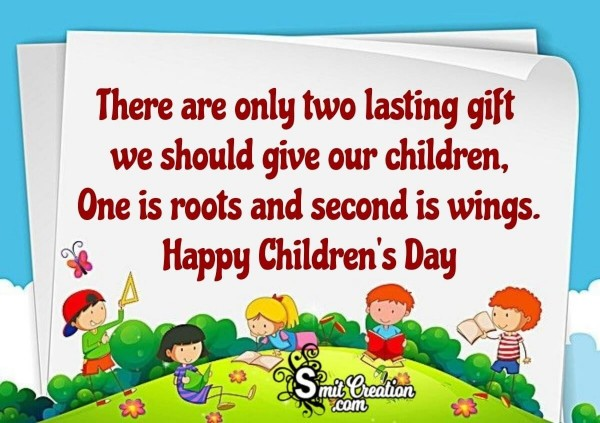 Happy Children's Day Inspirational Message