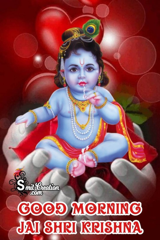 Good Morning Bal Krishna Pic
