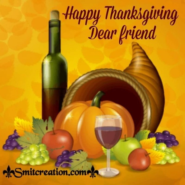 Happy Thanksgiving Dear Friend