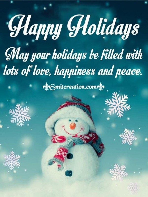 Blessings For Happy Holidays