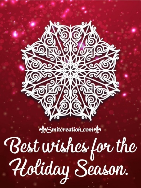 Best Wishes For The Holiday Season