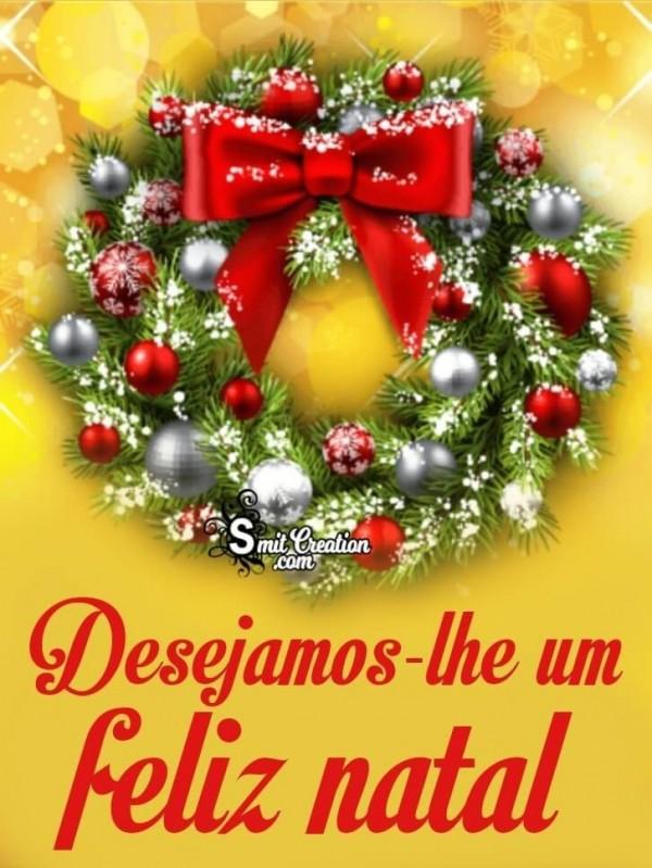 Desejamos-lhe um Feliz Natal