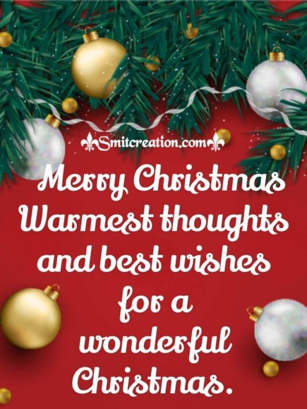 Wonderful Merry Christmas Card