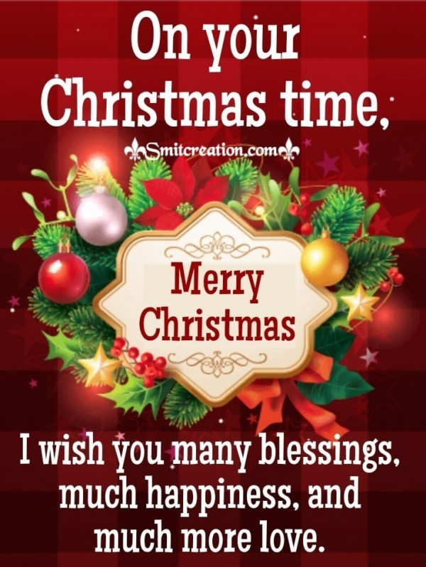 Wishes On Your Christmas Time