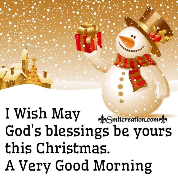 A Very Good Morning Merry Christmas