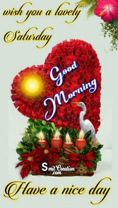 Good Morning Lovely Saturday