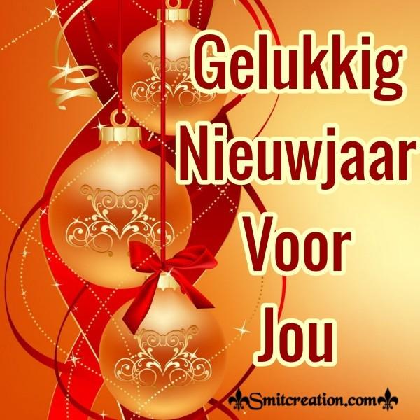 Gelukkig Nieuwjaar Voor Jou