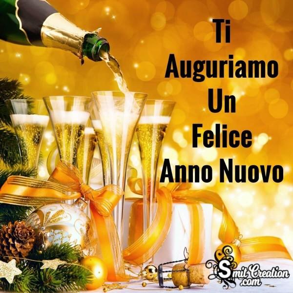 Ti Auguriamo Un Felice Anno Nuovo