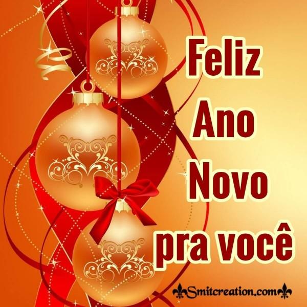 Feliz Ano Novo, Pra Você