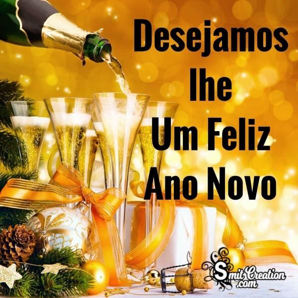 Desejamos-lhe Um Feliz Ano Novo
