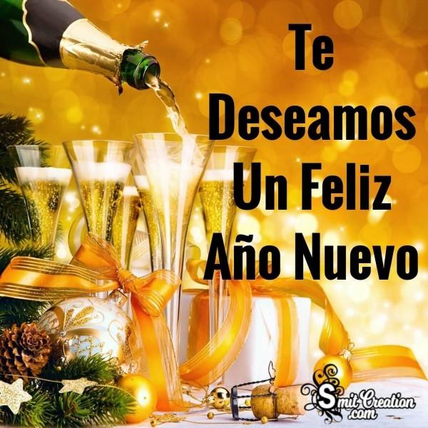 Te Deseamos Un Feliz Año Nuevo