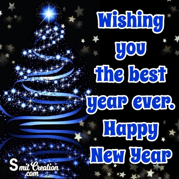 Wishing You The Best Happy New Year