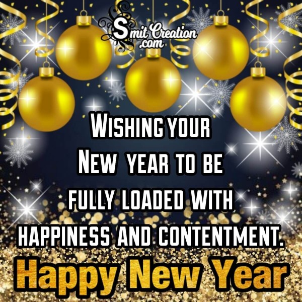 Wishing Your New Year To Be Fully Loaded