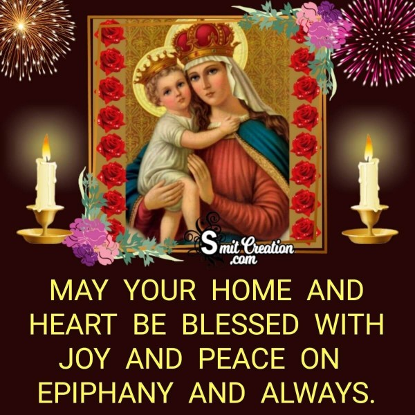 Happy Epiphany Wishes, Blessings, Messages Images