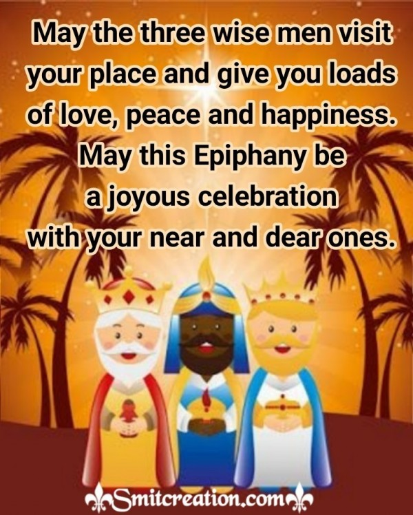 Joyous Epiphany Wishes For You
