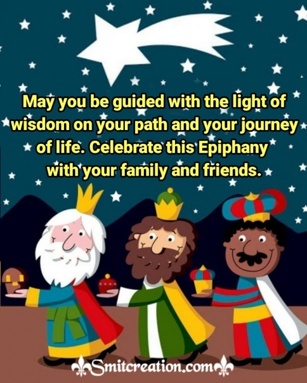 Epiphany Wishes For Family And Friends