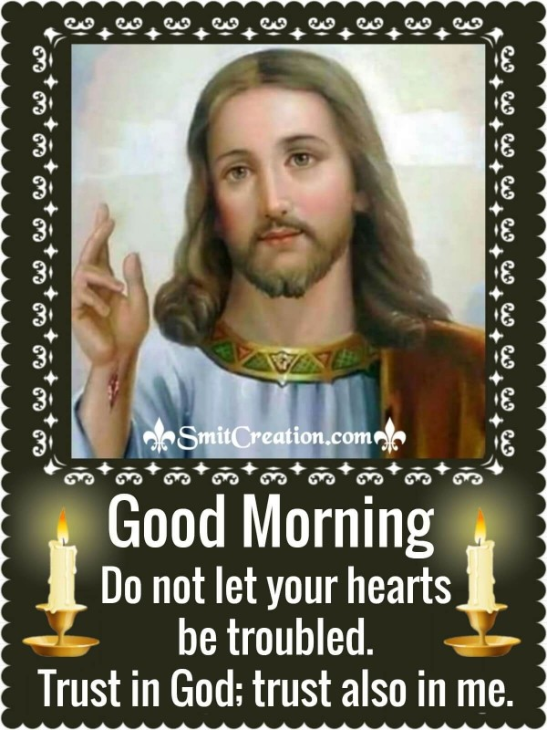 Good Morning Jesus Christ Quote On Heart
