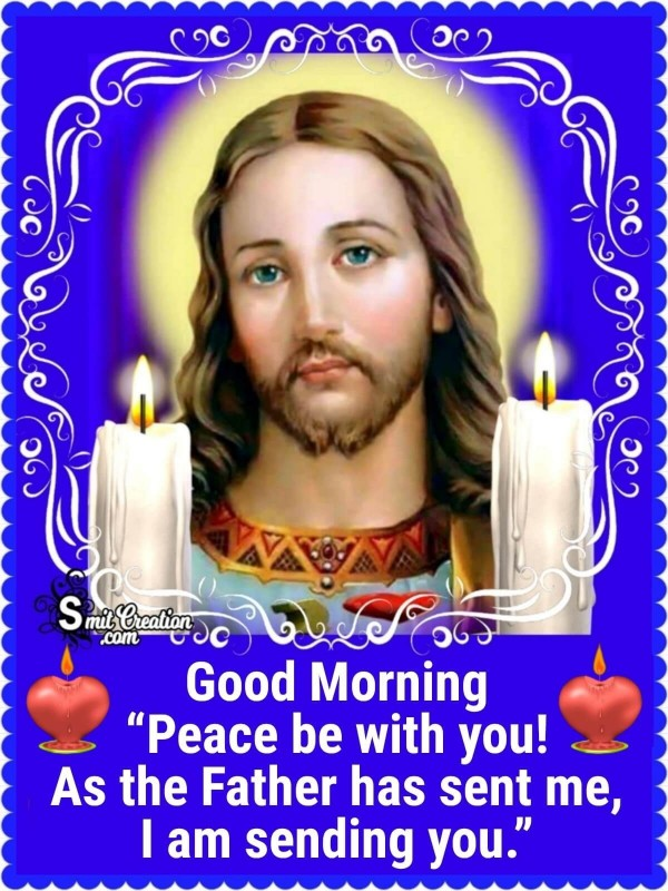 Good Morning Jesus Christ Quote On Peace