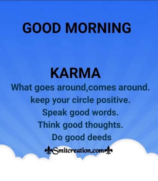 Good Morning Karama Quote For Whatsapp