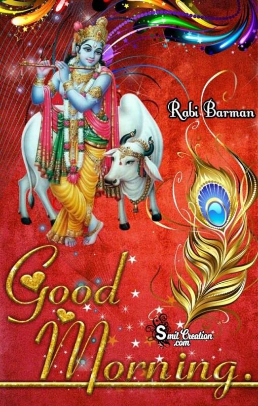 Good Morning Pic Of Krishna