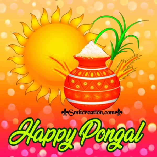 Happy Pongal Beautiful Image