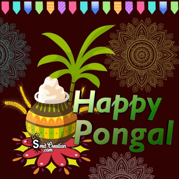 Happy Pongal Creative Photo