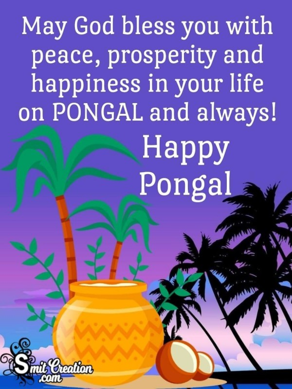 Happy Pongal Blessings To You
