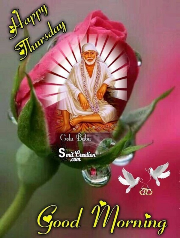 Happy Thursday Saibaba Pic