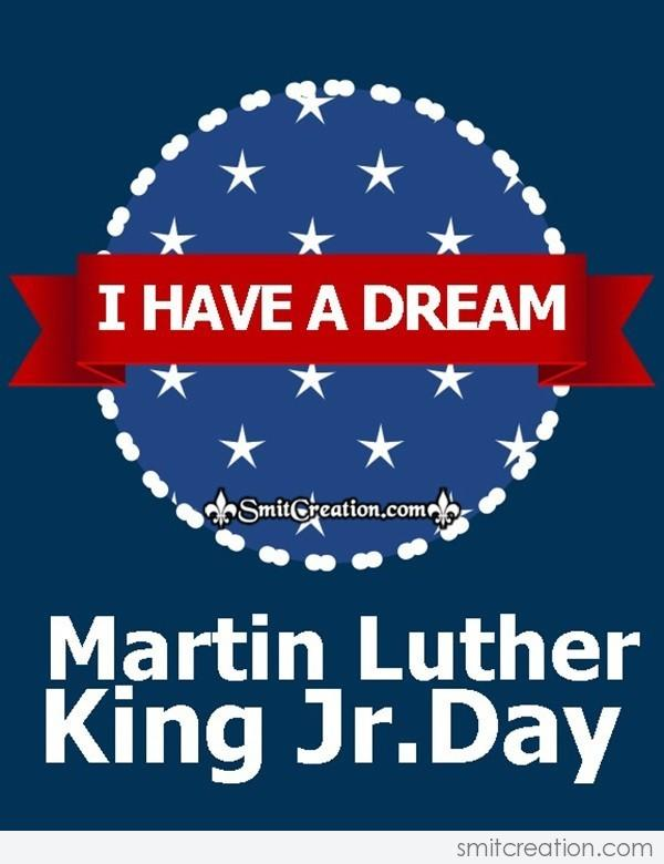 I Have A Dream Martin Luther King Day Card