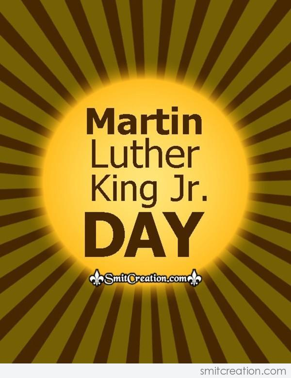 Happy Martin Luther King Day Card