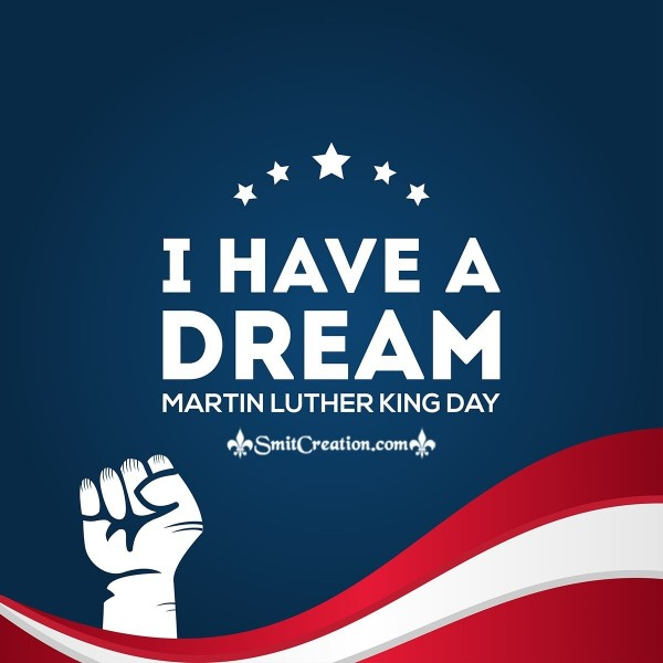 Martin Luther King Day Photo Card