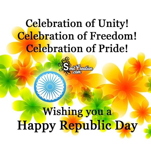 Happy Republic Day Beautiful Card