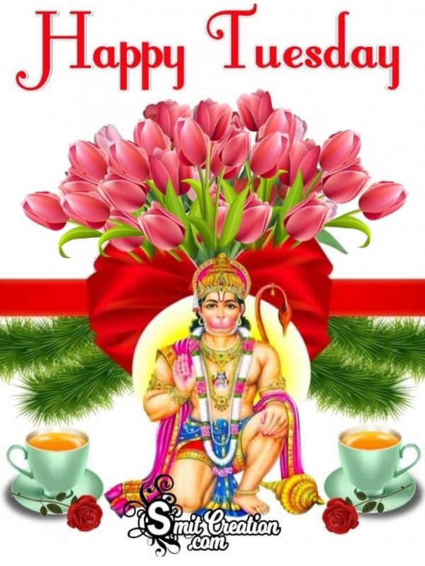 Happy Tuesday Hanuman Photo