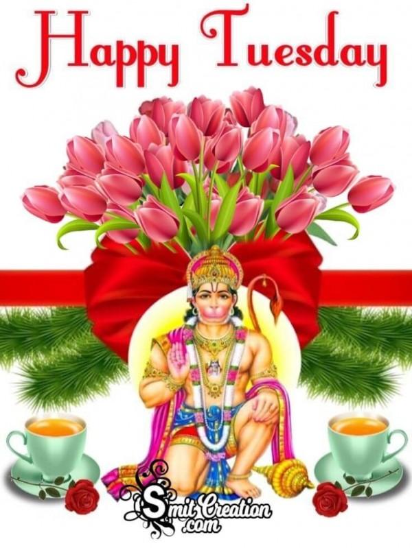 Happy Tuesday Hanuman Photo
